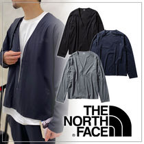 THE NORTH FACE Plain Logo Outdoor Cardigans