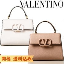 VALENTINO  VSLING Casual Style 2WAY Plain Leather Party Style Office Style