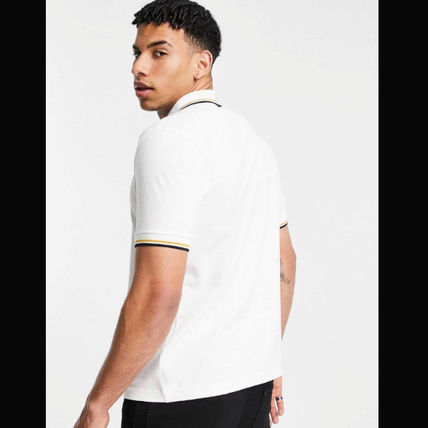 FRED PERRY Polos Unisex Short Sleeves Logo Polos 3