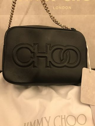 Jimmy Choo Casual Style Plain Leather Party Style Elegant Style