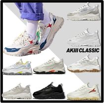 AKIII CLASSIC Casual Style Unisex Street Style Low-Top Sneakers