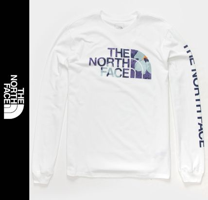 THE NORTH FACE Long Sleeve Flower Patterns Long Sleeves Long Sleeve T-shirt Outdoor
