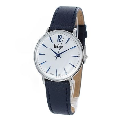 Lee Cooper Casual Style Leather Round Quartz Watches Office Style