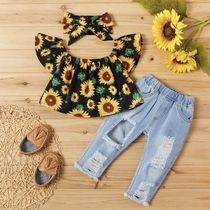 PatPat Street Style Co-ord Baby Girl Tops