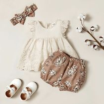 PatPat Organic Cotton Baby Girl Dresses & Rompers