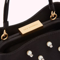 Lulu Guinness Casual Style 2WAY Chain Party Style Crossbody Handbags