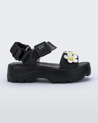 Heart Flower Patterns Platform Casual Style Collaboration