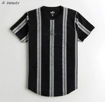 Hollister Co. Crew Neck Crew Neck Pullovers Stripes Flower Patterns Street Style 8