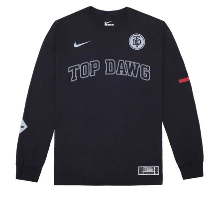 Nike Long Sleeve Crew Neck Street Style Collaboration Long Sleeves Cotton 2
