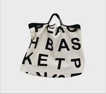 Casual Style Street Style Plain Oversized Bags