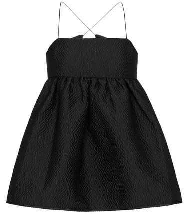CECILIE BAHNSEN Short Casual Style Plain Elegant Style Cropped