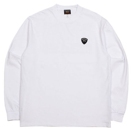 Long Sleeves Plain Cotton Long Sleeve T-shirt Logo