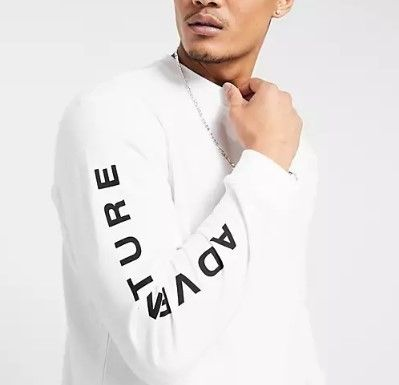 adidas Long Sleeve Crew Neck Pullovers Street Style Long Sleeves Cotton 2