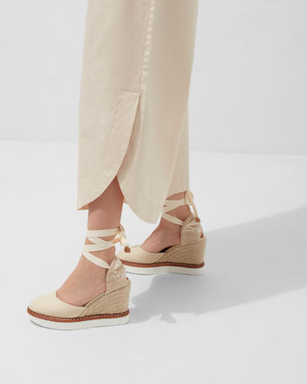 Castaner Platform & Wedge Lace-up Casual Style Plain Party Style 2
