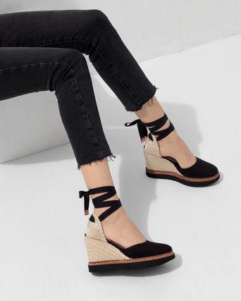 Castaner Platform & Wedge Lace-up Casual Style Plain Party Style 3