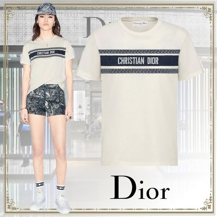 Christian Dior Cotton T-Shirts