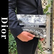 Christian Dior Casual Style Bag in Bag Other Animal Patterns Elegant Style