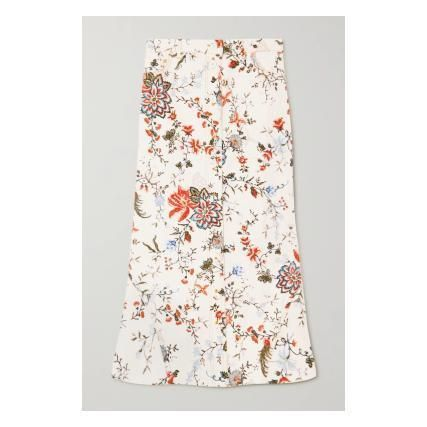 Flower Patterns Casual Style Cotton Medium Party Style