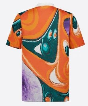 Christian Dior More T-Shirts Oversized Dior And Kenny Scharf Short-Sleeved Sweater 3