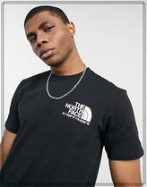 THE NORTH FACE Crew Neck Crew Neck Street Style Cotton Short Sleeves Logo Outdoor 4