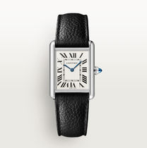 Cartier TANK Casual Style Unisex Leather Square Party Style