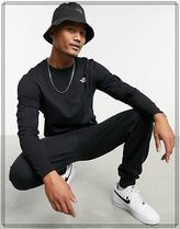THE NORTH FACE Long Sleeve Crew Neck Street Style Long Sleeves Cotton 4