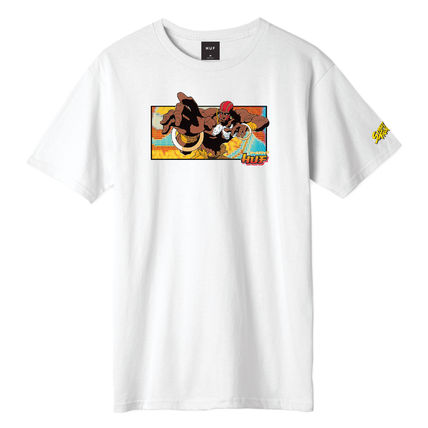 HUF More T-Shirts Unisex Street Style Collaboration Logo Skater Style T-Shirts 2