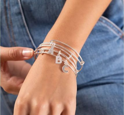 Bangles Casual Style Party Style Silver Elegant Style