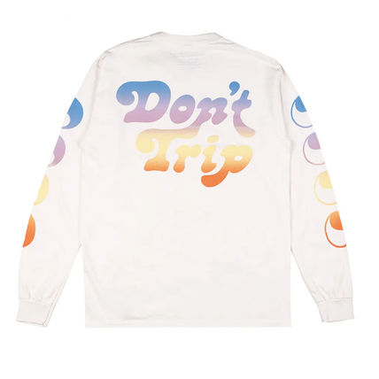 Street Style Long Sleeves Cotton Long Sleeve T-shirt