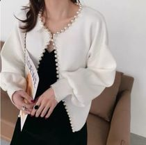 Short Casual Style Long Sleeves Medium Office Style