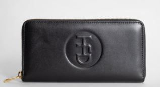 Plain Leather Long Wallet  Logo Long Wallets