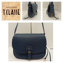 PRIMA CLASSE Casual Style Blended Fabrics Leather PVC Clothing Crossbody