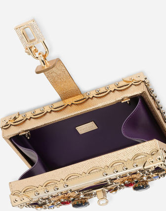Dolce & Gabbana Dolce Box With Bejeweled Embellishment