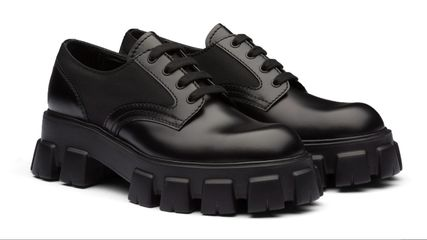 PRADA Prada Monolith Lace-Up Shoes