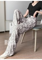 Printed Pants Zebra Patterns Casual Style