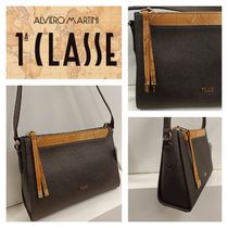PRIMA CLASSE Casual Style PVC Clothing Office Style Crossbody