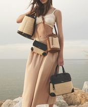 FURLA Bucket Bags Casual Style 2WAY Plain Party Style Purses Elegant Style 5