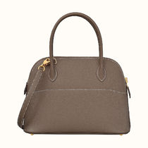 HERMES Bolide Casual Style Calfskin Street Style 2WAY 3WAY Plain Leather