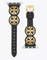 Tory Burch MILLER Casual Style Leather Elegant Style Apple Watch Belt Watches