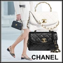 CHANEL Logo Party Bags
