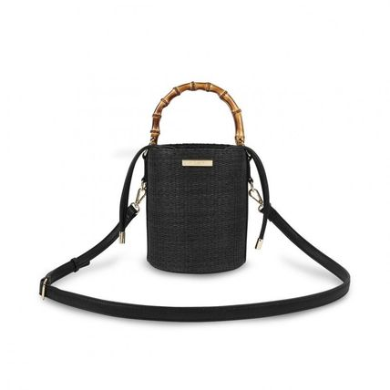 Casual Style 2WAY Plain Crossbody Logo Shoulder Bags