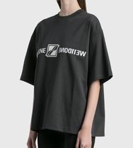 We11Done Cotton Short Sleeves Logo T-Shirts