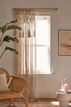 Urban Outfitters Fringes Sheer Curtains