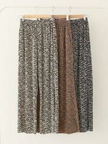 Printed Pants Leopard Patterns Casual Style Nylon