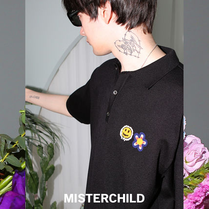 MISTER CHILD Sweaters Unisex Street Style Sweaters 2
