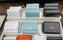 kate spade new york Plain Leather Small Wallet Coin Cases