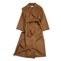 LOEWE Oversize Belted Coat In Wool And Cashmere