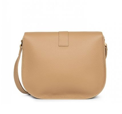 LANCASTER Shoulder Bags Casual Style Plain Leather Party Style Office Style 3