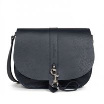 LANCASTER Shoulder Bags Casual Style Plain Leather Party Style Office Style 5