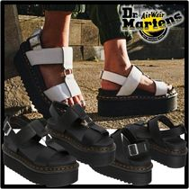 Dr Martens Casual Style Street Style Leather Logo Sandals